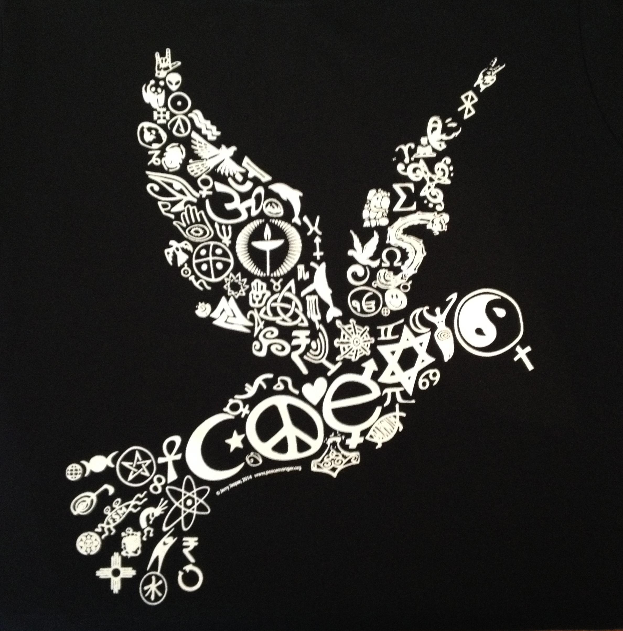 Coexist Dove