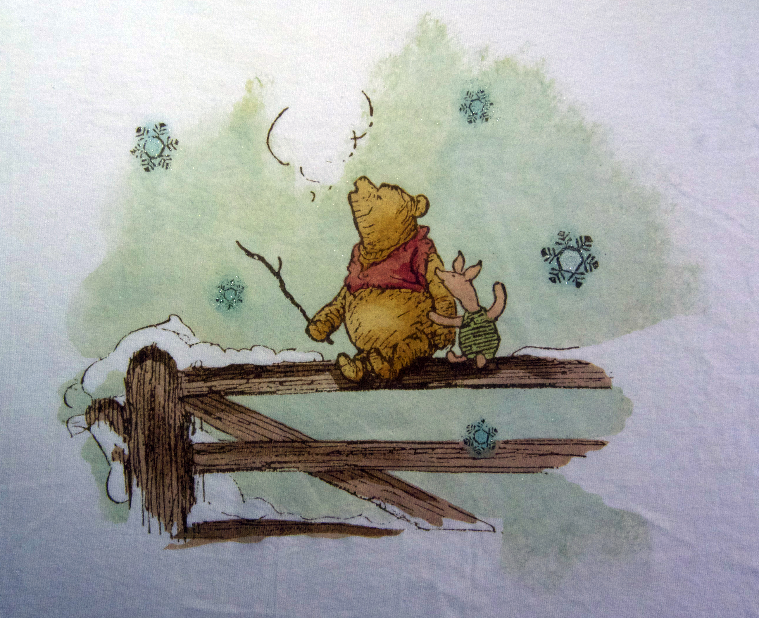pooh snowflake